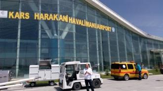 Bandara Kars yang kecil namun modern