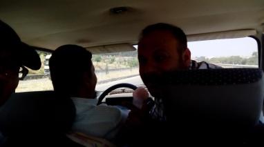 Fuad, pria Kurdi yang memberikanku tumpangan sampai ke terminal bis
