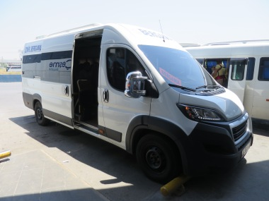 Bis menuju Bergama (10 Lira one way)
