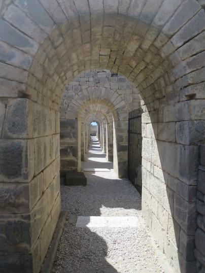 Lorong menuju teater Pergamum