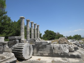 Temple of Athena,Priene