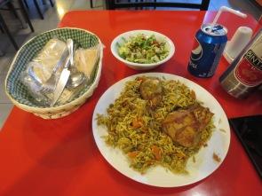 Nasi Briyani Ayam ala India Turki