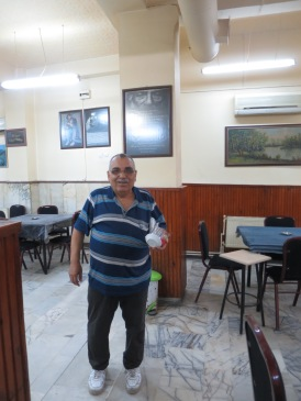 Omar, bapak2 ramah yang biasa membuatkan kopi turki untukku tiap pagi