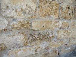 Batuan yang berukir khas Byzantium