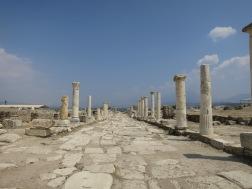 Syrian Street, Jalan utama di Laodicea