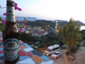 Pemandangan Kas dari Aphrodite Hotel