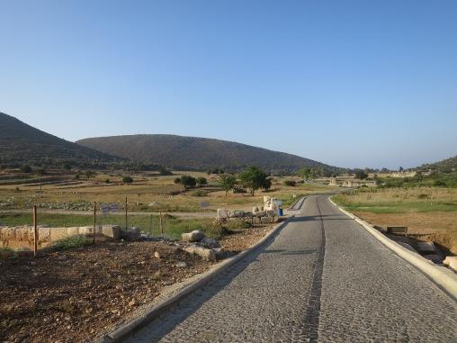 Jalan di kota kuno Patara