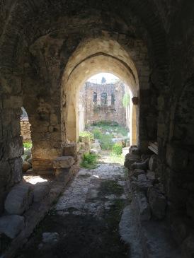 Bagian Broken MInaret yang masih mempertahankan ciri khas gereja