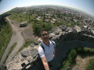 Selfie di atas benteng