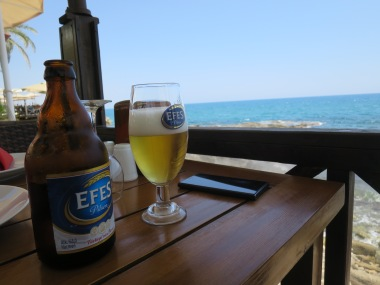 An Efes and Vitamin Sea