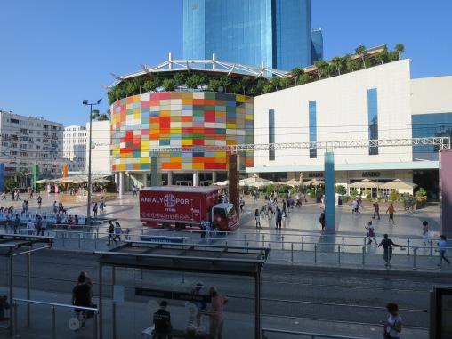 MarkAntalya Mall dilihat dari Osmanli Cafe