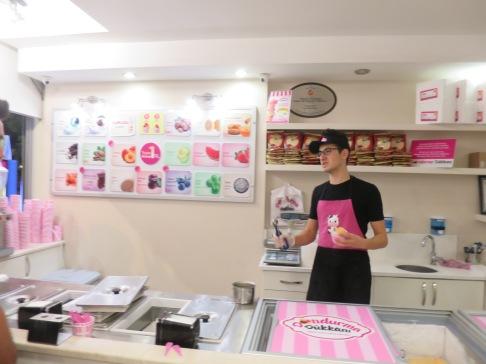Penjual es krim di Antalya