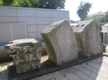 Sisa bangunan gereja awal yang didirikan oleh Kaisar Theodosius