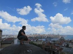 Pemandangan indah Selat Bosphorus