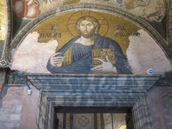Mosaic Christ in the Land of the Living