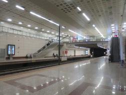 Platform Tram yang modern