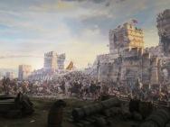 Suasana Medan Pertempuran di gerbang Constantinople