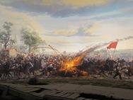 Ledakan meriam di tengah pasukan Ottoman
