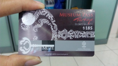 Turkey Museum Pass (tampak depan)