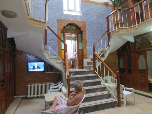 Interior Cinili Hamam, tempat nyantai dan rileks setelah mandi