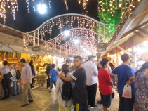 Pasar malam di Sultanahmet