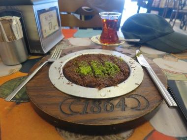 Kunefe Coklat di Hafidz Mustafa