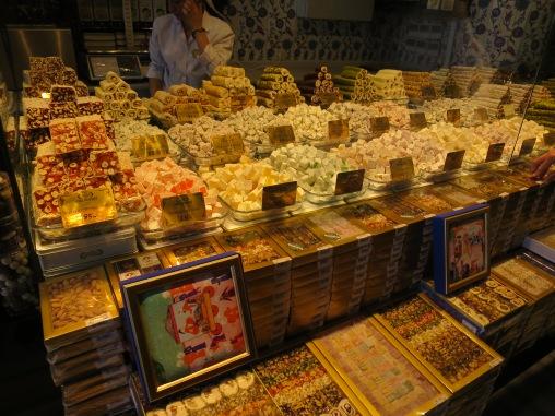 Turkish Delight berbagai rasa di Spice Market