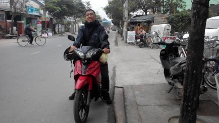 motor sewaan di Hoi An