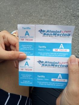 Tiket Rimini - San Marino
