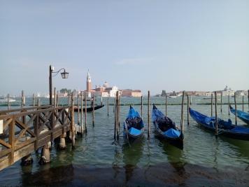 Dermaga tak jauh dari Piazza San Marco