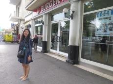Burger King seberang Rimini Centrale