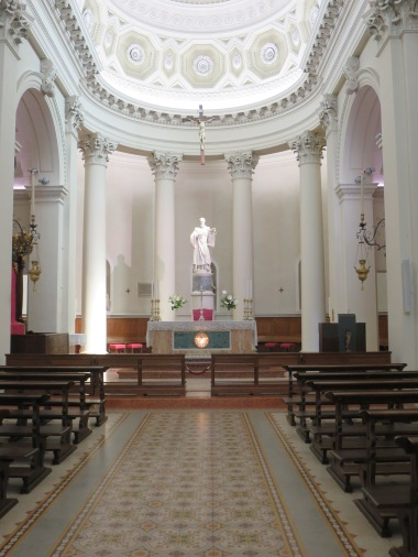 Interior Basilica San Marino