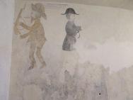Graffiti yang dilukis oleh narapidana