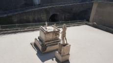 Patung salah satu pembesar Herculaneum, Proconsul Marcus Nonnius Balbus