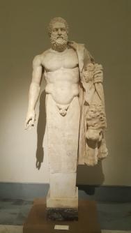 Hercules dan mantel Singa Nemea