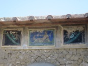 Mosaik-mosaik indah yang masih tersisa
