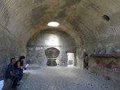 Ruang Tepidarium di pemandian Herculaneum