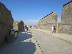Jalan kuno di Pompeii