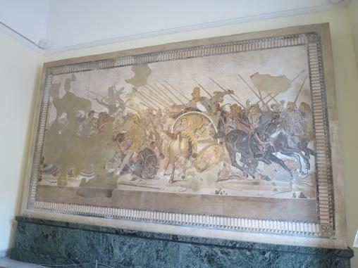 Mosaik Alexander Agung