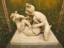 Patung Faun dan kambing