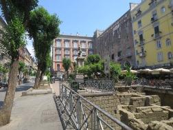 Bagian tembok kota yang ditemukan