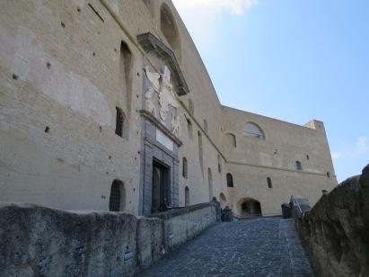 Bagian luar Castel San't Elmo