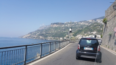on the way to Positano