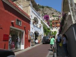Jalan sempit khas Positano