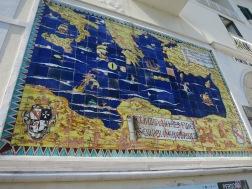 Peta Laut Mediterania di zaman kejayaan Amalfi
