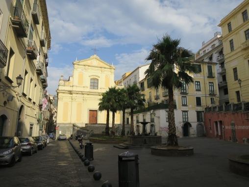Salah satu piazza di Salerno