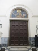 Pintu dengan mosaik Rasul Matius