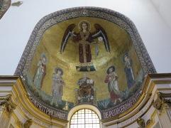 Mosaik Rasul Matius dengan gaya Byzantium
