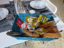 Our breakfast basket