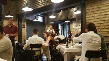 Restoran Cacio Pepe saat kami makan